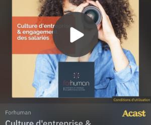 Podcast : Culture d'entreprise & engagement des salariés